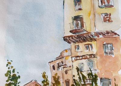 Cuenca vieilles maisons