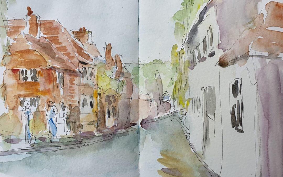 Puttenham top of street