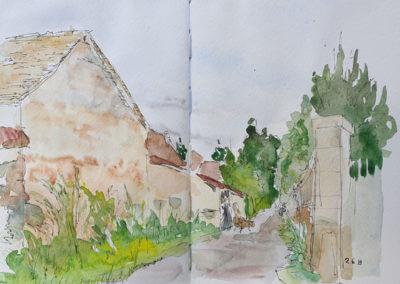 Thoiry, Rue de l'Eglise