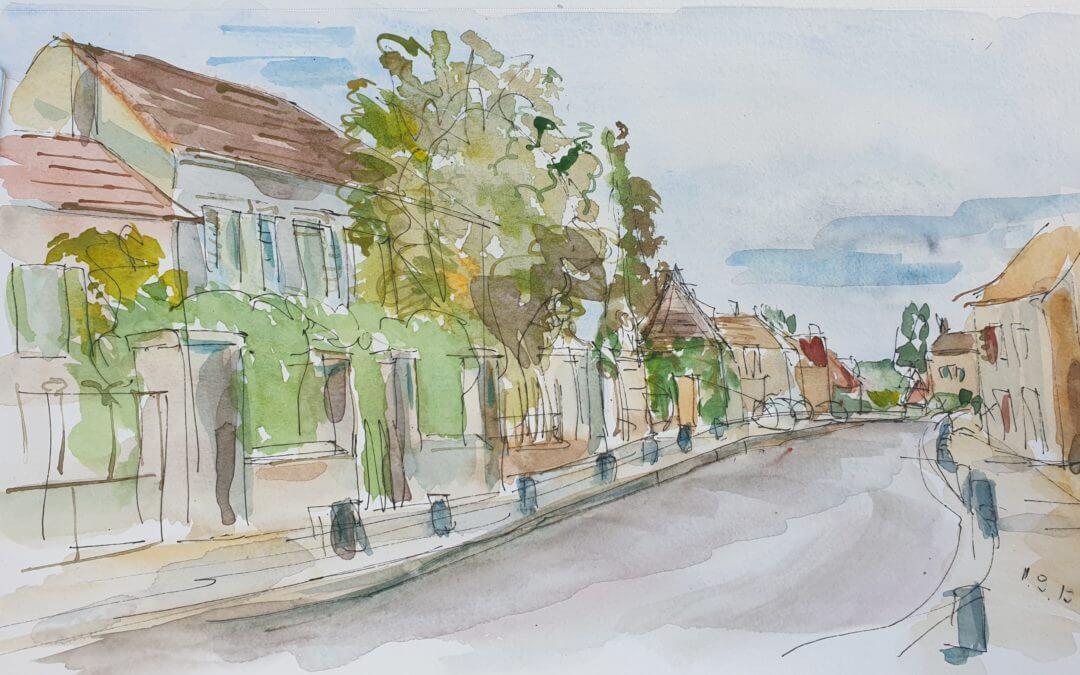 Thoiry, Rue de la Porte Saint Martin