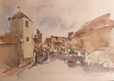 Montfort l'Amaury en Octobre