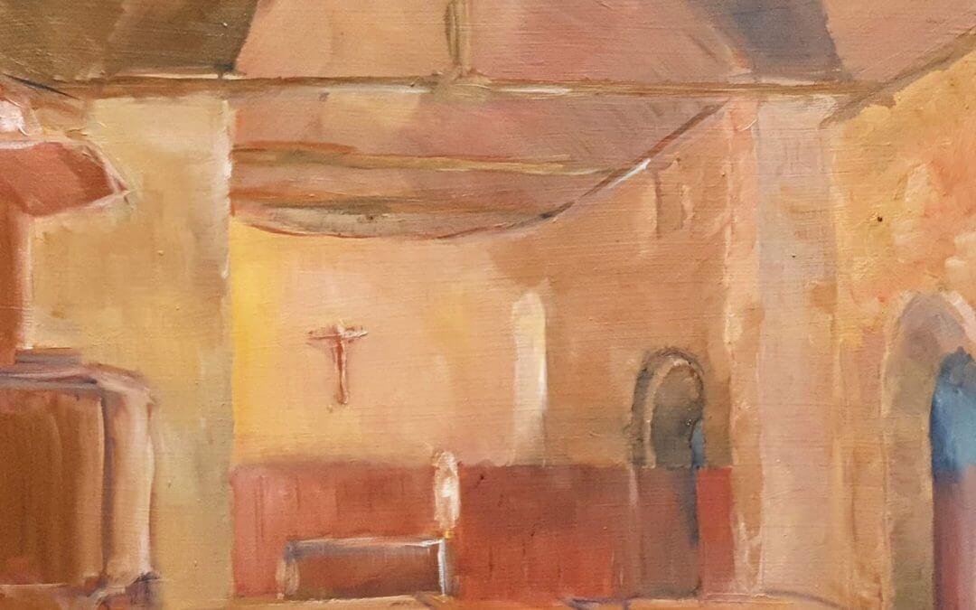 Eglise de Thoiry, intérieur